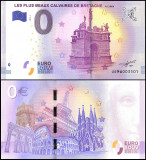 !!! 0 EURO SOUVENIR -  FRANTA , BRETAGNE , PLUS BEAUX CALVAIRES  - 2017.1 - UNC