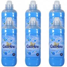 6 x Balsam de rufe Coccolino Blue Splash, 6 x 1L
