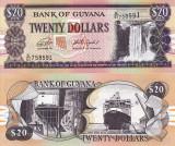 GUYANA 20 dollars ND (2018) UNC!!!