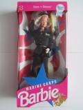 Papusa Barbie-Stars'n Stripes-Marine Corps-Editie Speciala-1991-Mattel 7549-NOU, Plastic