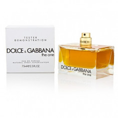 Dolce & Gabbana The One For Her 75ml (EDP) _ Tester Parfum ( Plus Cadou )