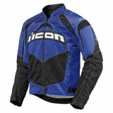 Geaca moto Icon Contra culoare Albastru, marime 3XL Cod Produs: MX_NEW 28201670PE