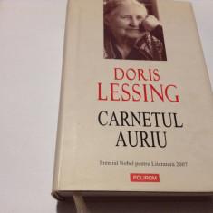 DORIS LESSING CARNETUL AURIU-RF14/0, Polirom, Matei Calinescu