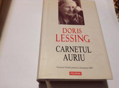 DORIS LESSING CARNETUL AURIU-RF14/0 foto