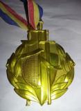 Medalie veche sportiva Romania,Distinctie Spada si Scrima Sportiva,T.GRATUIT