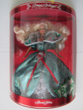 Papusa Barbie-Happy Holidays 1995-Christmas-Mattel 14123-NOU-Editie Speciala, Plastic