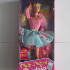 Papusa Barbie-Malt Shoppe-1992-Editie Limitata-Mattel 4581-NOU, Plastic