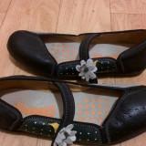 Pantofi din piele firma CAMPER marimea 38, sunt noi!, Negru, Cu talpa joasa