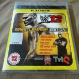 Joc WWE 12, original, PS3! Alte sute de jocuri!, Sporturi, 18+, Multiplayer