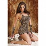 Rochie mini Cheetah Leopard L-XL