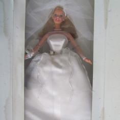 Papusa Barbie-Blashing Bride-Mireasa-1999--Mattel 26074-NOU, Plastic
