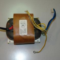 Transformator  toroidal 2x29V  + 2 X 19V   150w  (aplicatii audio)
