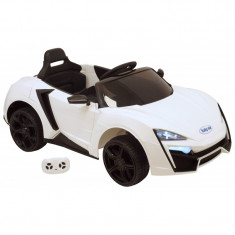 Masina electrica Baby Mix Hyper Car QLS 5188 White