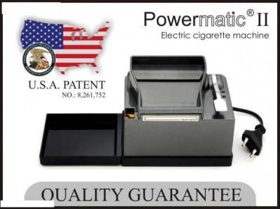 Masina electrica de facut tigari injectat tutun Powermatic 2+ foto