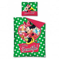 Lenjerie de pat Minnie Mouse 140 x 200cm STC12A, 140x200cm