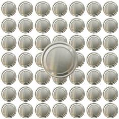250 x Capac borcan prin capsare 82mm, pentru borcane din sticla de 720ml