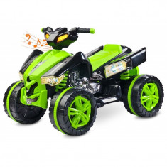 ATV Electric Toyz Raptor 2x6V Verde