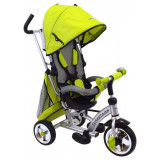 Tricicleta cu scaun reversibil Sunrise Turbo Trike Green, Baby Mix