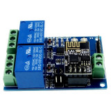 Modul wifi esp8266 5v esp-01 2 canale relee iot smart home android network lan