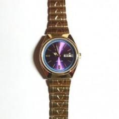 Vand ceas automatic CITIZEN culoare blu- mov deosebit !, Mecanic-Automatic