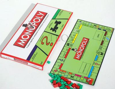 Monopoly clasic in Limba Romana Monopoly foto