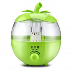 Umidificator de Aer Ultrasonic pentru Camera, Model Mar, Capacitate Rezervor 3,8L, Putere 25W, Culoare Verde