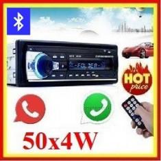 MP3 Player Casetofon auto USB SD Bluetooth 4x60W Telecomanda Radio Aux