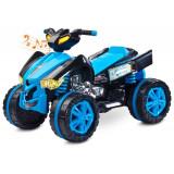 ATV Electric Toyz RAPTOR 2x6V Albastru