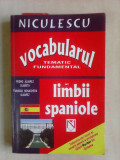 Vocabularul tematic fundamental al limbii spaniole