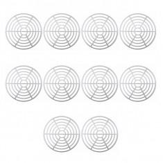 10 x Presa butoi pentru muraturi, Plastic, Alb, 28cm