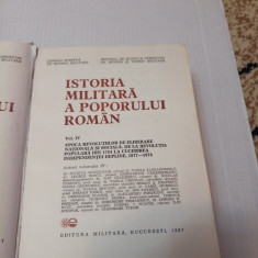 Istoria militara a poporului roman vol. IV - Ed. Militara 1987