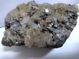 Floare de mina Quartz cu Pirita 655 gr