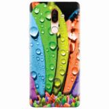 Husa silicon pentru Nokia 7 Plus, Colorful Daisy Petals