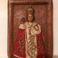 Icoana ceramica pictata subiect religios catolic 15x10cm