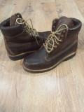 LICHIDARE STOC! Bocanci TIMBERLAND originali piele waterproof vintage 42/43, Maro, Piele naturala