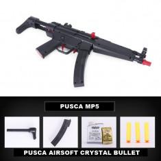 PUSCA MITRALIERA M5,KIT COMPLET,CU BILE CRYSTAL BULLET,UN CADOU SUPER,SIGILATA.
