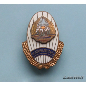 Insigna  -  ACADEMIA  MILITARA