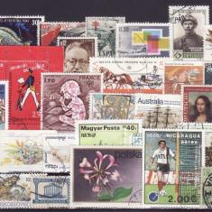 1915 - Lot timbre diverse tari