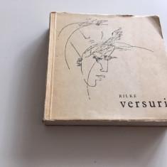 RAINER MARIA RILKE, VERSURI. EPLU BUCURESTI 1966, ILUSTRATII DE OCTAV GRIGORESCU