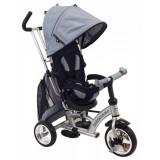 Tricicleta cu scaun reversibil Sunrise Turbo Trike Silver, Baby Mix