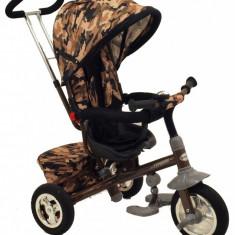 Tricicleta Baby Mix cu sezut reversibil Typhoon Moro