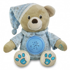 Jucarie din plus cu proiector Happy Bear Blue Baby Mix