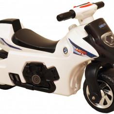 Motocicleta pentru copii Super Power Baby Mix White