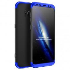 Husa 360 Grade Upzz Protection Samsung Galaxy S9+ Plus Negru Albastru