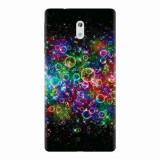 Husa silicon pentru Nokia 3, Rainbow Colored Soap Bubbles