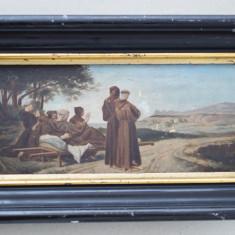 Pictura veche ulei pe lemn, Istorice, Realism