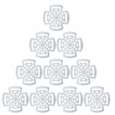 100 x Presa muraturi pentru borcane, compatibile cu 1.75L - 2L - 3L - 5L