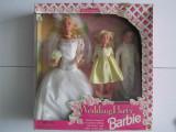 Papusa Barbie-Barbie Wedding Party Deluxe Set-Nunta-1994-Mattel 13557-NOU, Plastic