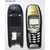 Carcasa Nokia 6310i Negru / Gold (Fara Tastatatura) Cal.A