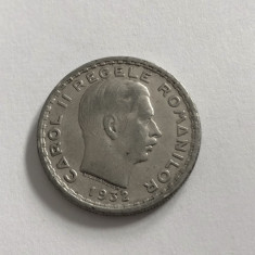 MONEDA REGALISTA REGELE CAROL II 100 LEI 1932 ROMANIA
